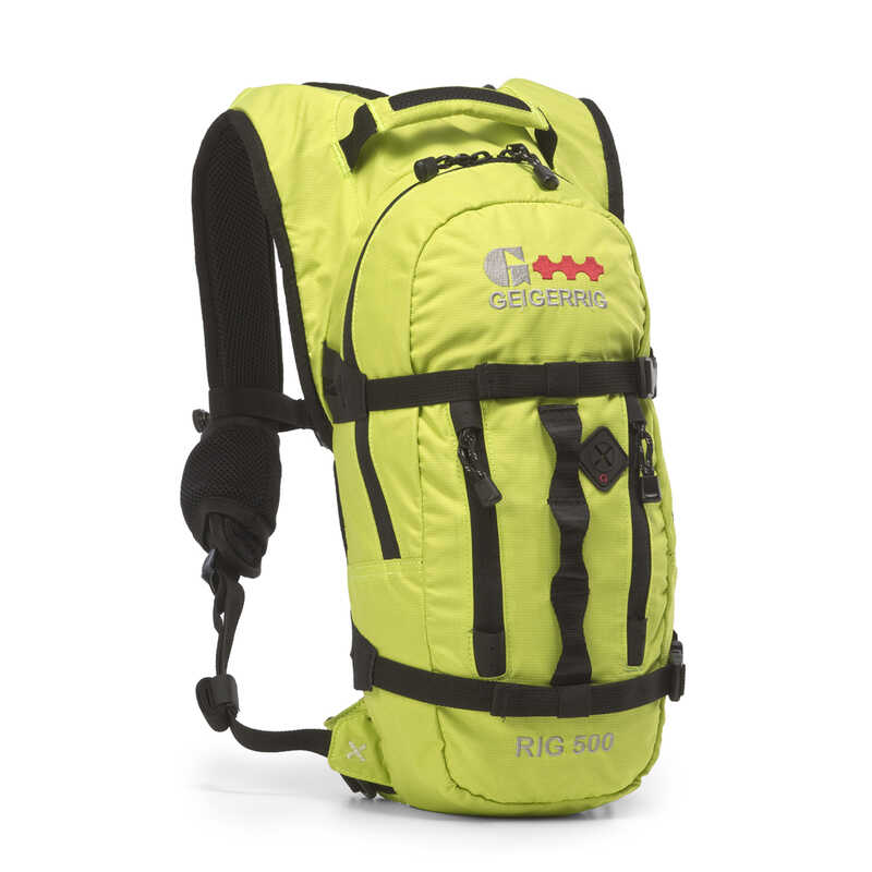 Aquamira  Geigerrig  Black/Yellow  Hydration Water Filter Backpack  1 pk