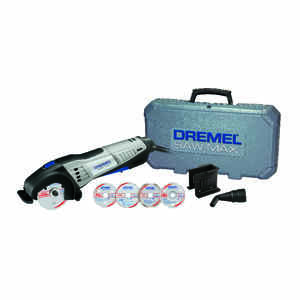 Dremel  Saw-Max  3 in. Corded  6 amps Handheld Circular Saw  Kit 17000 rpm