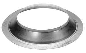 Duravent  6-5/8 in. Dia. 24 Ga. Galvanized Steel  Storm Collar
