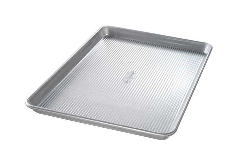 USA Pan  12-3/4 in. W x 17-3/4 in. L Baking Sheet  Silver