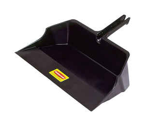 Rubbermaid Commercial  Plastic  Heavy Duty  Dust Pan