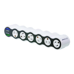 360 Electrical  1080 J 4 ft. L 6 outlets Surge Protector