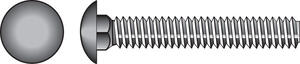 Hillman  3/8 in. Dia. x 1-1/2 in. L Zinc-Plated  Steel  Carriage Bolt  100 pk
