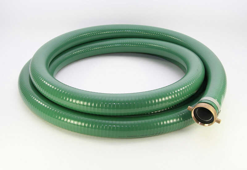 Ultra Dynamic Products  2 in. Dia. x 20 ft. L PVC  Suction Hose
