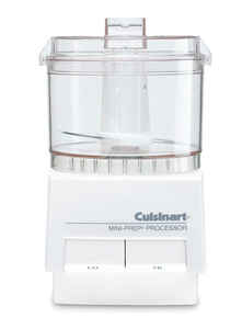 Cuisinart  Mini-Prep  White  21 oz. Food Processor  220 watts