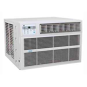 Perfect Aire  12,000 BTU 16-1/4 in. H x 22-3/4 in. W 550 sq. ft. Window Air Conditioner w/Heat