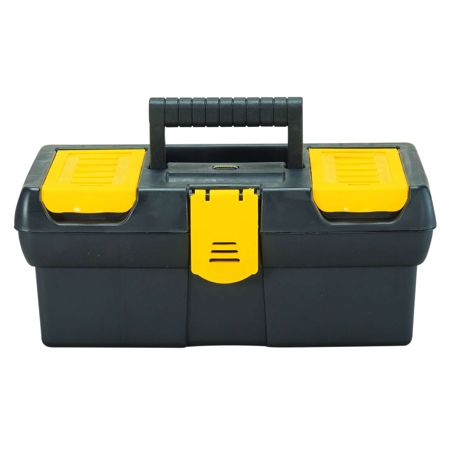 Stanley 12.5 in. Polypropylene Tool Box 7 in. W x 5.1 in. H Black/Yellow