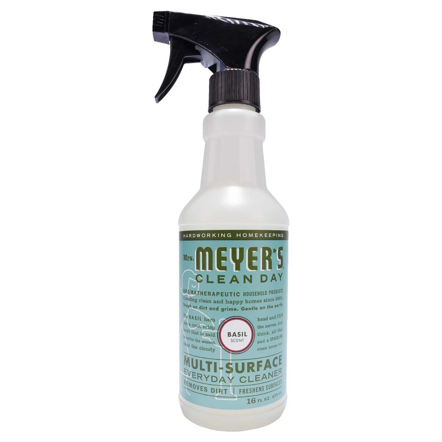 Mrs. Meyer's  Clean Day  Basil Scent Multi-Surface Cleaner, Protector and Deodorizer  16 oz. Liquid