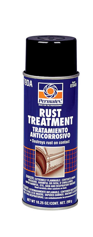 Permatex Rust Treatment Clear Latex Primer 10.25 oz.