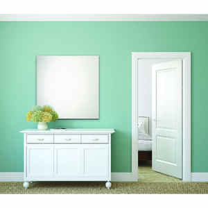 Erias  36 in. H x 36 in. W Bright  Silver  Frameless Wall Mirror