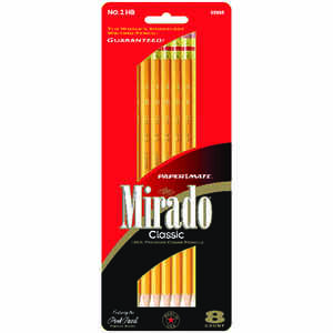 Papermate  Mirado  Wood  Pencil  8 pk No. 2