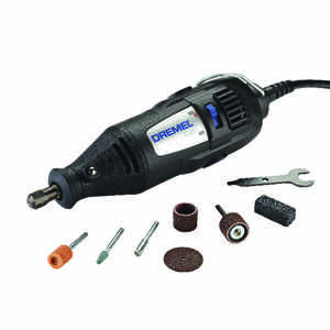 Dremel  100 Series  1/8 in. Corded  Rotary Tool  Kit 120 volt 35000 rpm 7 pc.