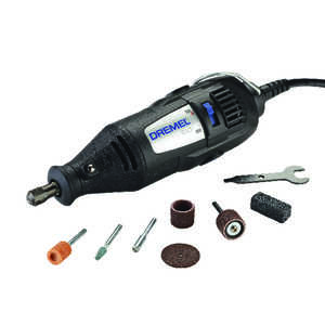 Dremel  1/8 in. Corded  Kit 120 volts 35000 rpm 7 pc. Rotary Tool