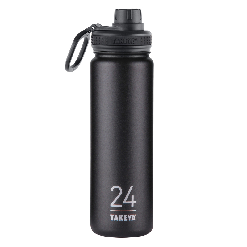 Takeya ThermoFlask  Asphalt  Stainless Steel  Double Walled  BPA Free 24 oz. Double Wall Tumbler
