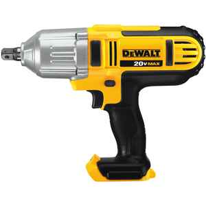DeWalt  20V Max  1/2 in. Square  Cordless  Impact Wrench  20 volt 2300 ipm 400 ft./lbs.