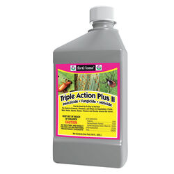 Ferti-Lome  Triple Action  Liquid Concentrate  Insect, Disease & Mite Control  16 oz.