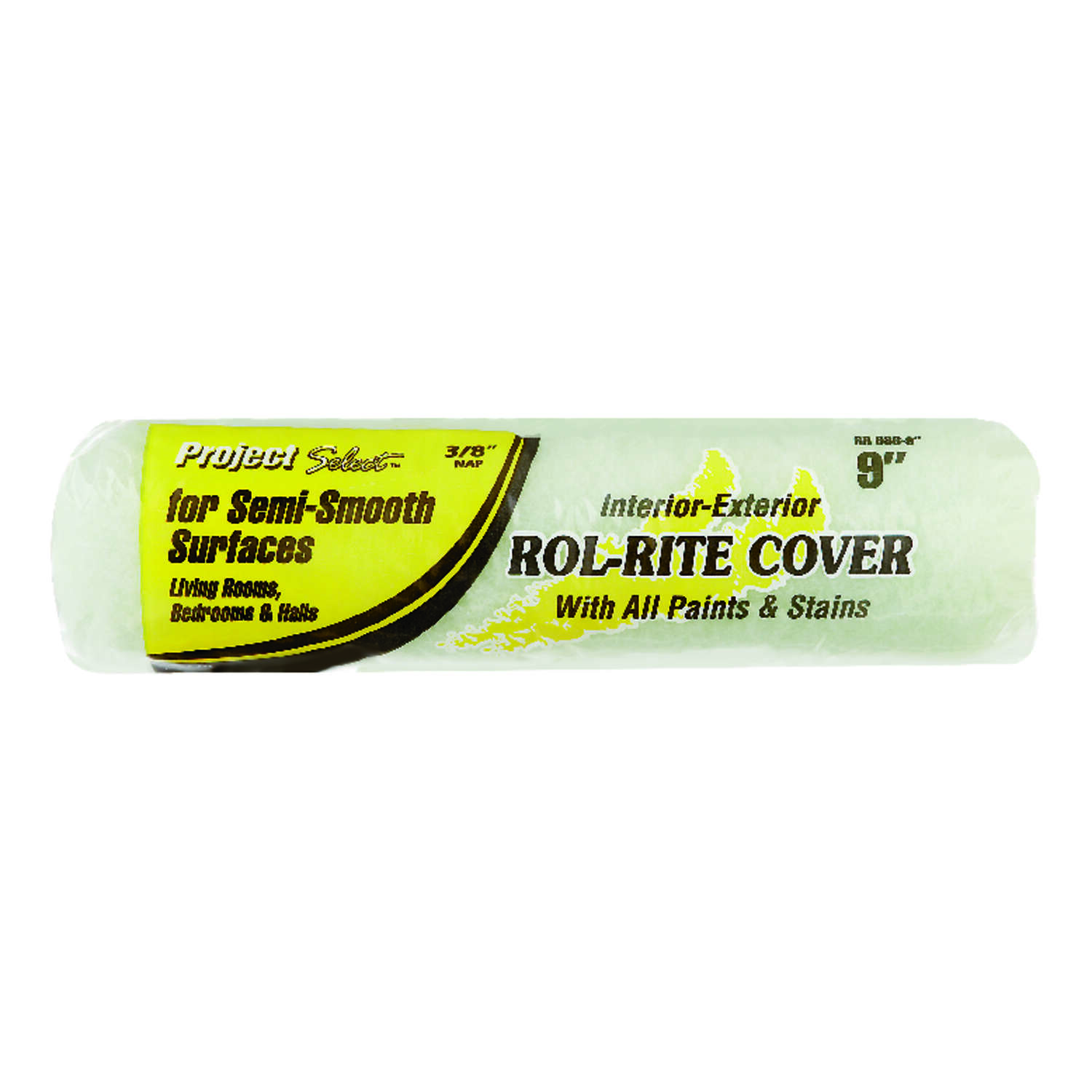 Project Select Rol-Rite Polyester 9 in. W x 3/8 in. Regular Paint Roller Cover 1 pk