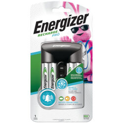 Energizer  4 Battery Black  Battery Charger