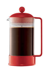 Bodum  Brazil  34 oz. Red  French Press