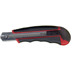 Ace  6 in. 8 Point  Snap Knife  Black/Red  1 pc.