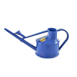 Haws  Blue  0.1 gal. Plastic  Watering Can