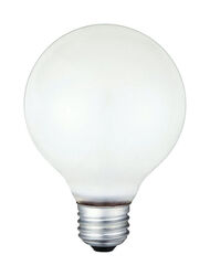 Westinghouse  40 watt G25  Globe  Incandescent Bulb  E26 (Medium)  White  12 pk