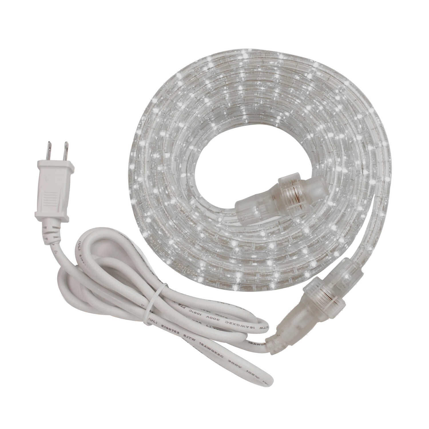 Amertac  Decorative  Clear  Rope Light  48 ft.