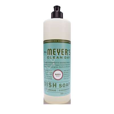 Mrs. Meyer's  Clean Day  Basil Scent Dish Soap  16 oz.