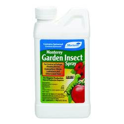 Monterey  Garden Insect Spray  Organic Liquid Concentrate  Insect Killer  1 pt.