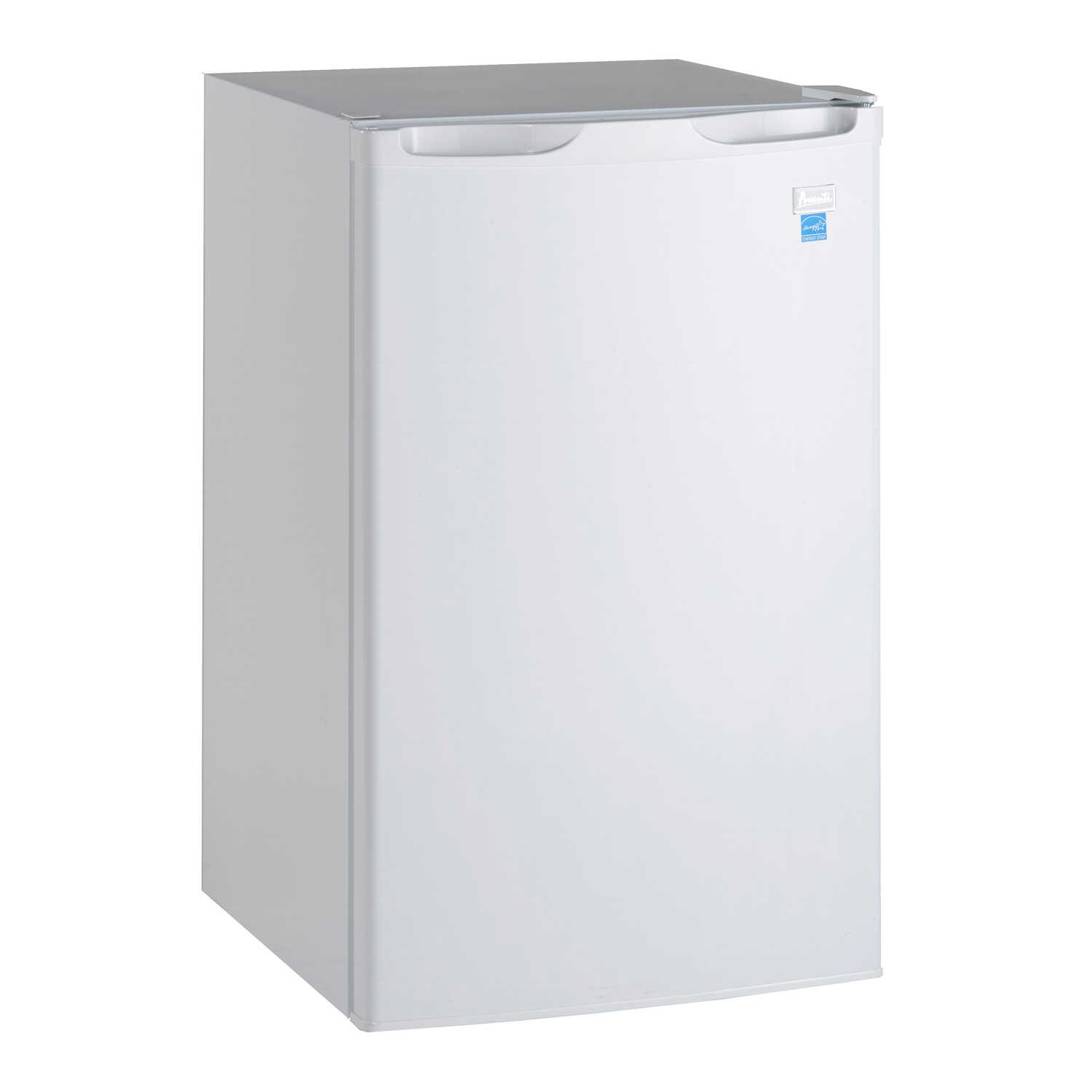 Avanti 4 4 Cu Ft White Stainless Steel Mini Refrigerator 110 Watts