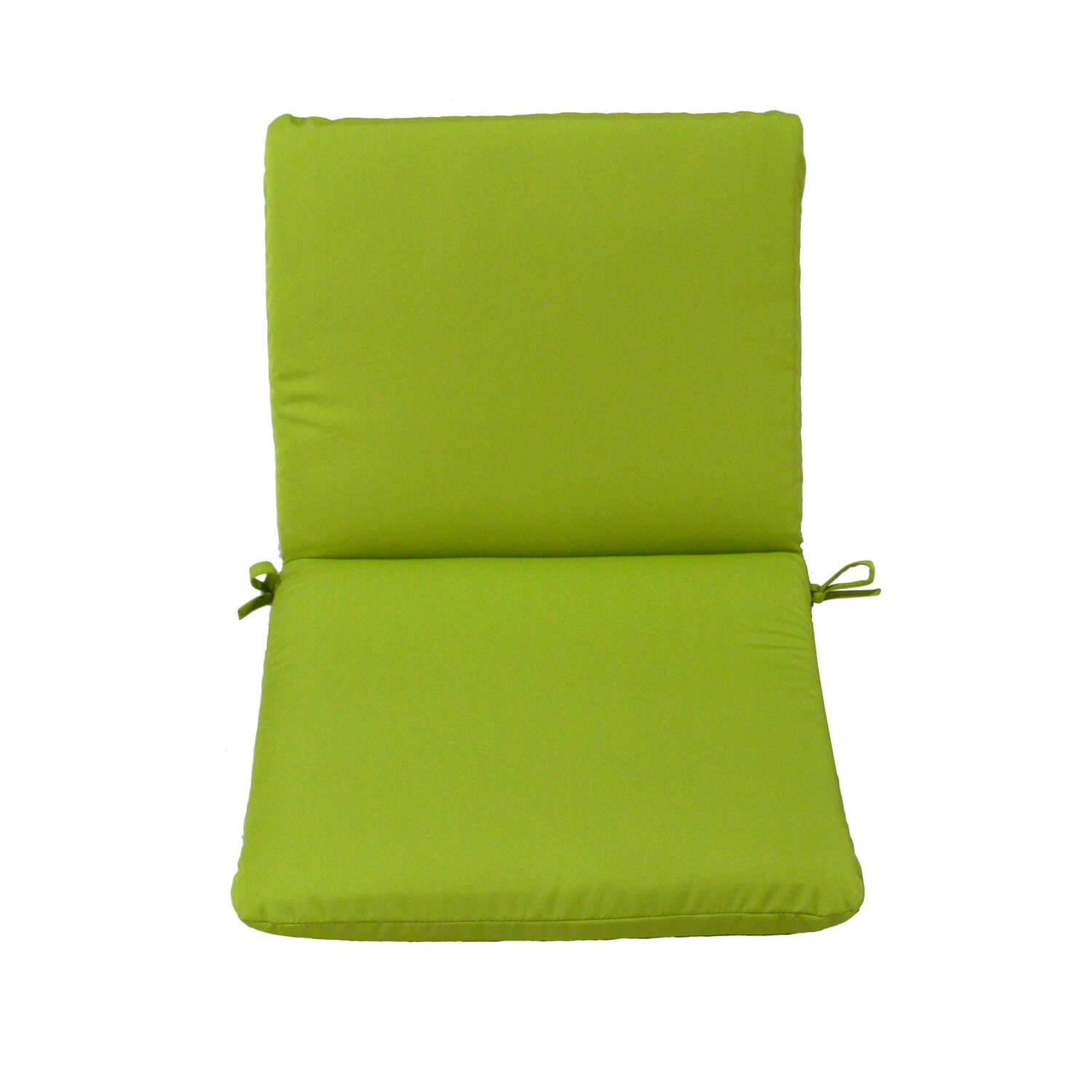 Casual Cushion  Gray/Lime  Seating Cushion  1.5 in. Polyester  36 in. 19 in.