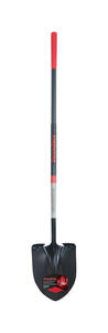 Razor-Back  SuperSocket  Steel  9 in. W x 62.25 in. L Round point  Shovel  Fiberglass