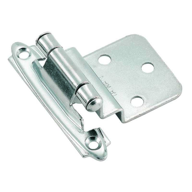 Amerock  2-3/4 in. L Polished Chrome  Steel  Hinge  1 pk