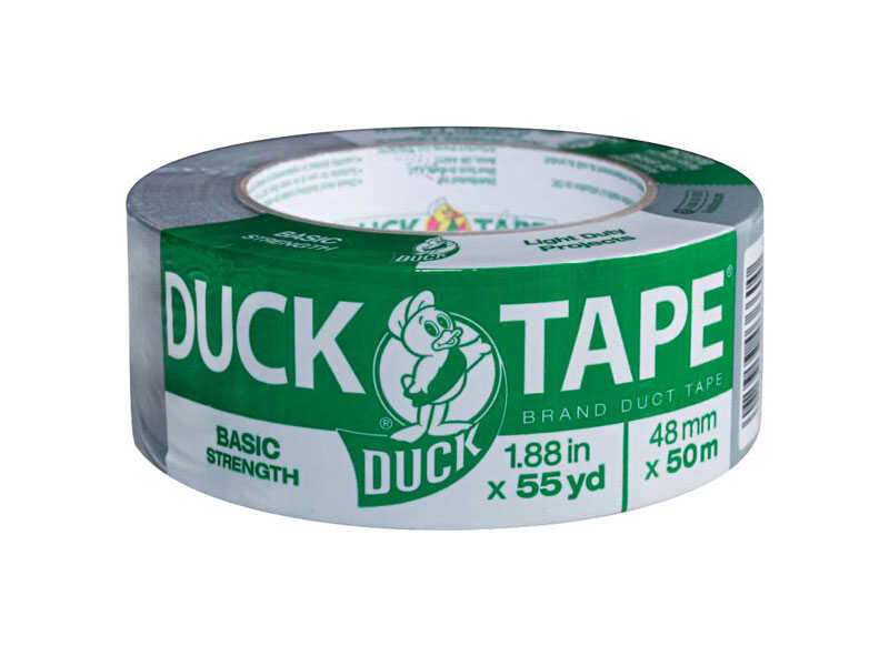 Duck Brand  1.88 in. W x 165 yd. L Gray  Duct Tape