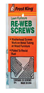 Frost King Lawn Chair Screws