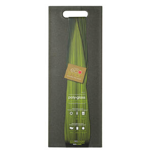 Architec  EcoSmart  6-1/2 in. W x 17 in. L Natural  Black  Poly-Glass  Cutting Board