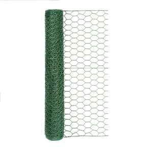 Garden Zone  24 in. W 25 ft. Vinyl Coated Steel  Poultry Netting  Yes