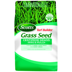Scotts  Turf Builder  Centipede  Full Sun  Seed, Mulch & Fertilizer  5 lb.