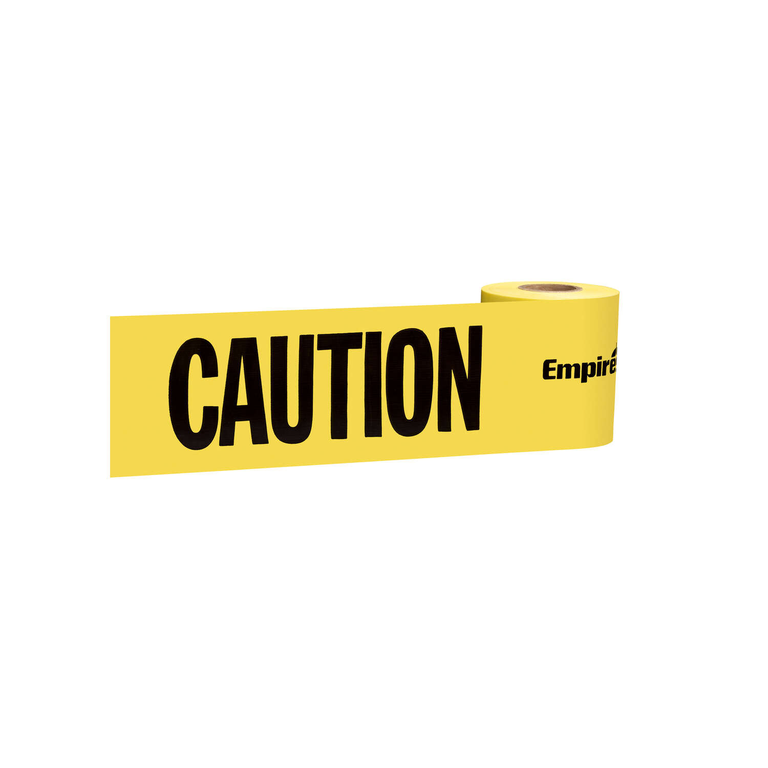 Empire 200 ft. L x 3 in. W Plastic Caution Cuidado Bilingual Barricade Tape Yellow