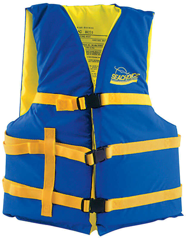 Seachoice  Adult  Assorted  Life Jacket