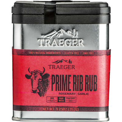 Traeger Rosemary and Garlic Prime Rib Rub 9.25 oz.