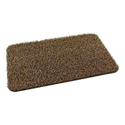 GrassWorx  Tan  Polyethylene  Nonslip Door Mat  30 in. L x 18 in. W