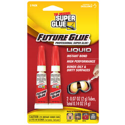 The Original Super Glue Corporation  Future Glue  Super Strength  All Purpose Super Glue  2 pk