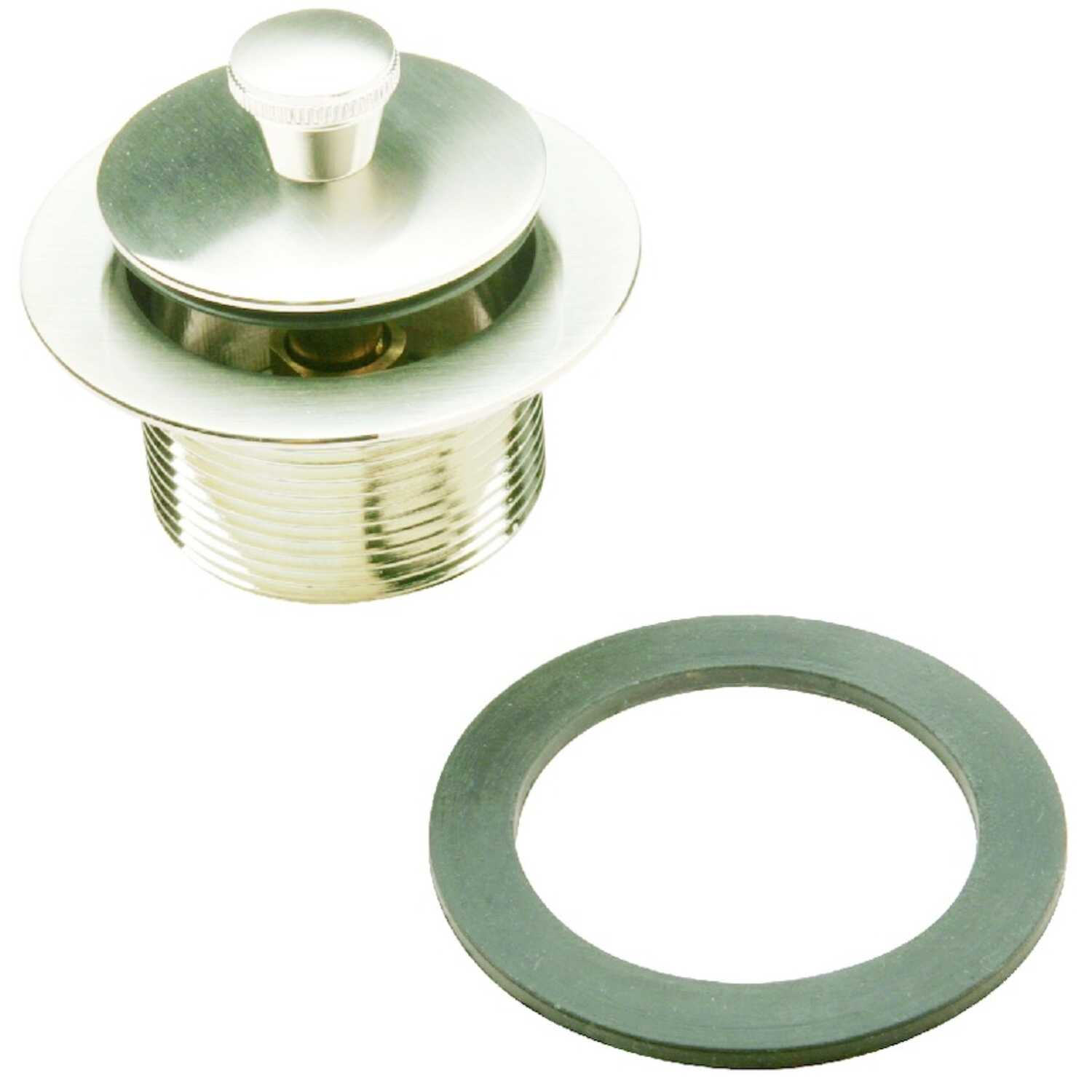 Ace  1-1/2 in. Dia. Roller Ball Assembly  Brushed Nickel  Nickel