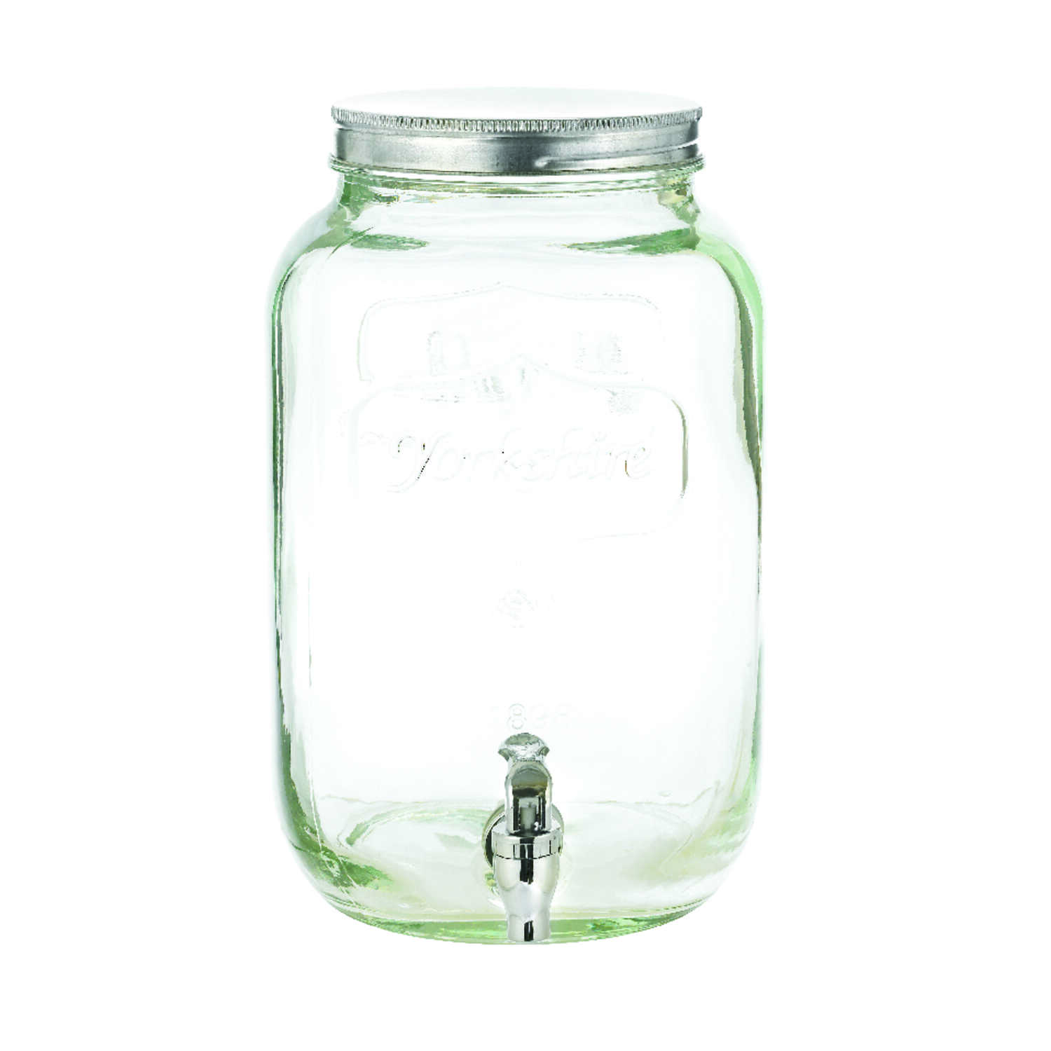 Circleware  2  Clear  Glass  Classic  Sun Tea Beverage Dispenser  1 pk