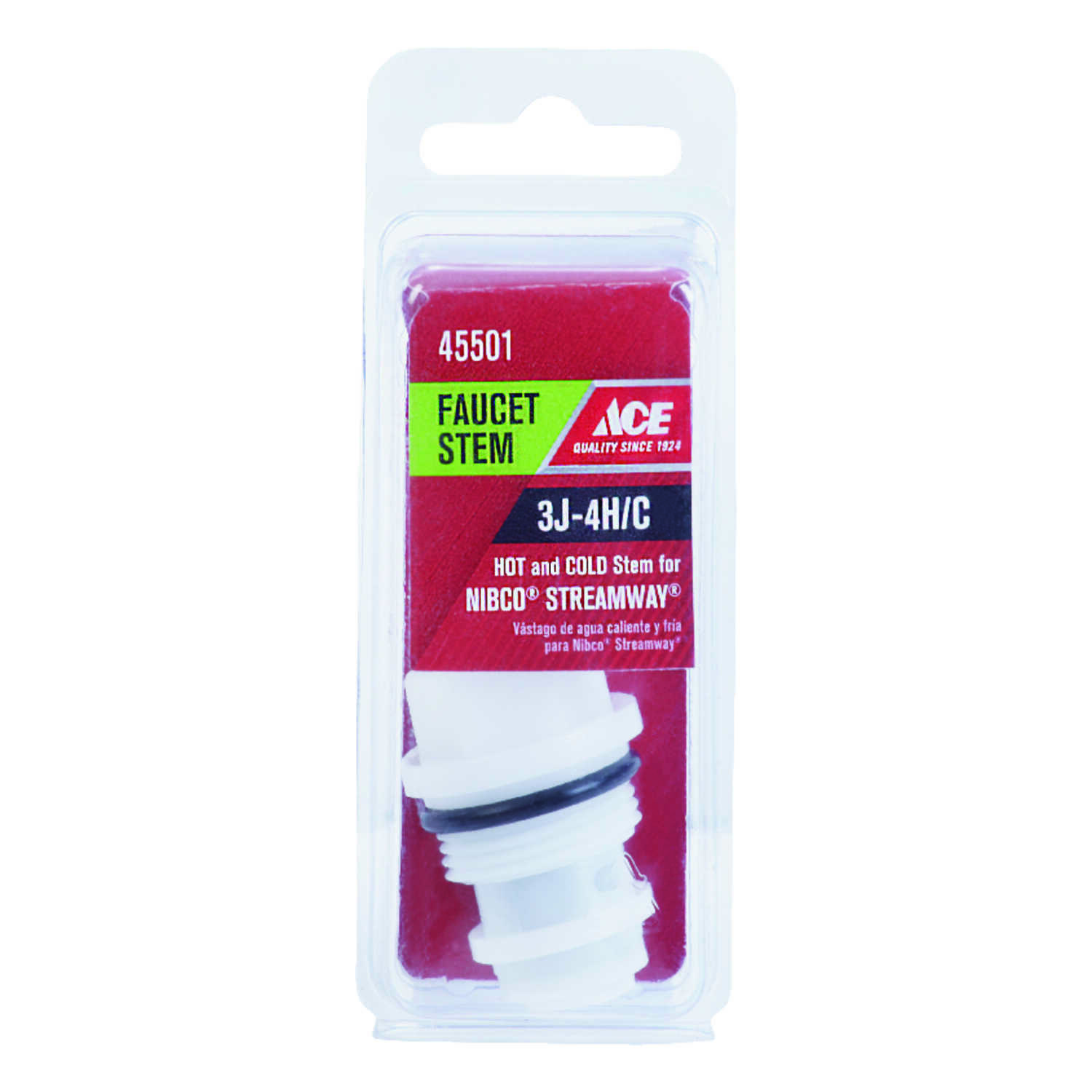 Ace  Hot and Cold  3J-4H/C  Faucet Cartridge  For Nibco & Streamway