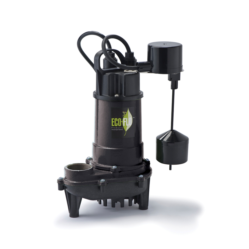 Ecoflo  1/2 hp 4400 gph Cast Iron  Submersible Sump Pump