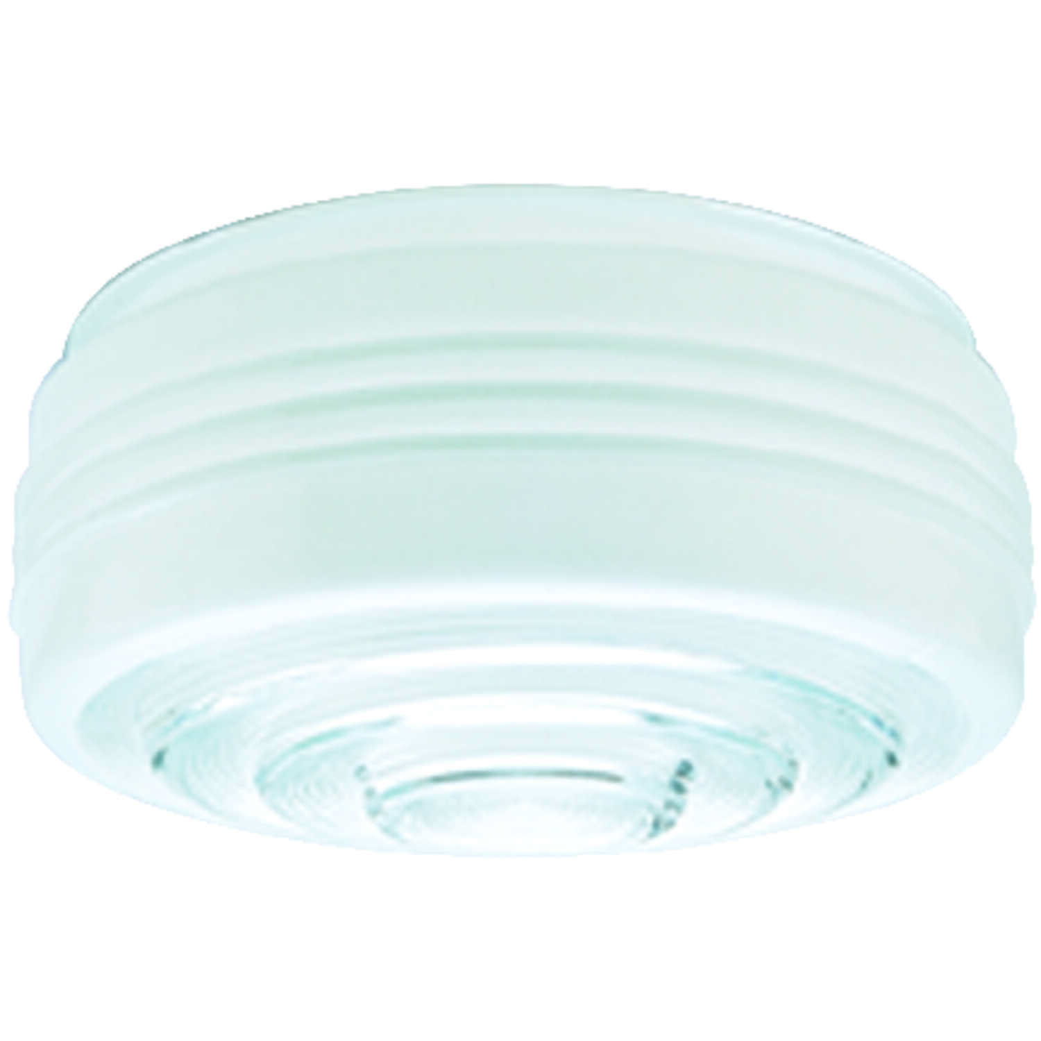 Westinghouse  Drum  White  Shade  1 pk Glass