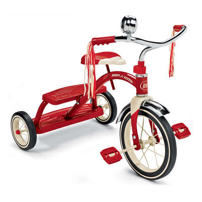 Radio Flyer  Unisex  12 in. Dia. Tricycle  Red