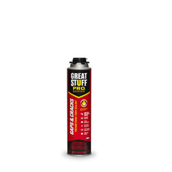 Great Stuff Pro  Gaps & Cracks  Orange  Polyurethane Foam  Insulating  Insulating Sealant  24 oz.